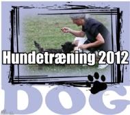 Hundetræning 2012